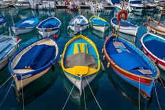 Wood fartyg, söder av Frankrike royaltyfria foton