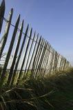 Wood fence. On blue sky Royalty Free Stock Photos