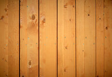 Wood fence background. Royalty Free Stock Image