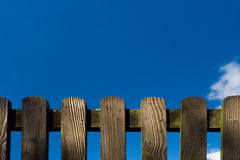 Wood Fence Detail royalty free stock photos