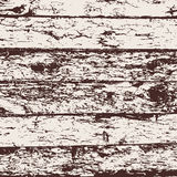 Wood fence grunge background, brown and white pine bark texture. Vector Stock Photos