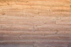 Wood Fence With Jagged Edge Stock Photo