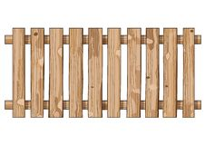 Wood fence light brown texture splat background wall bright vertical planks board vector illustration