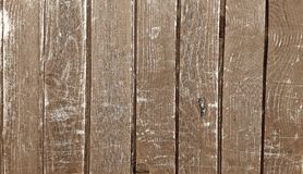 Wood fence in the street for background stock photos