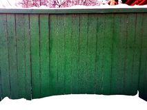 Wood fence texture and background royalty free stock images