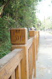 Wood fences Royalty Free Stock Images