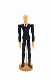 Wood Figure business man Royalty Free Stock Images