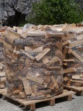 Wood for the fire place Stock Images