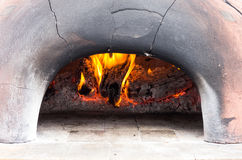 Wood fired oven Stock Images