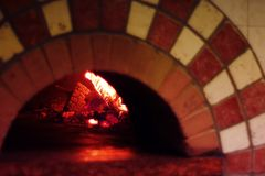 Wood fired oven Stock Photos