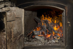 Wood-fired oven Stock Photos