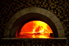 Wood Fired Pizza Oven Royalty Free Stock Image