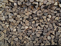 Wood for fireplace Royalty Free Stock Photography