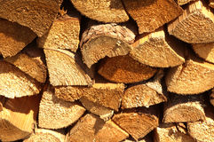 Wood for the fireplace Royalty Free Stock Photography