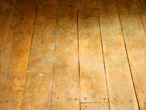 Wood floor. Grunge wood floor for background Stock Photography