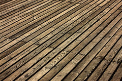 Wood floor. In the room Royalty Free Stock Photos