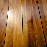 Wood Floor. Closeup of a finished wood floor Royalty Free Stock Images