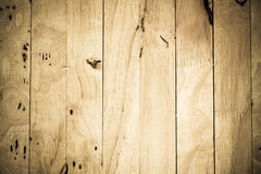 Wood floor and dirty wall surface of wooden Stock Photography