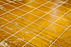 Wood floor stock image