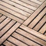 Wood floor in square cropped Stock Photos