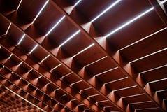 Wood floor structure. Of terrace stock photos