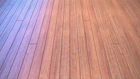 Wood floor texture background. Oblique wood floor texture background fading color skylight Stock Images