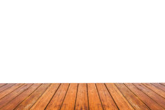 Wood floor texture isolated on white background Royalty Free Stock Image