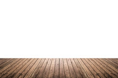 Wood floor texture isolated on white background Stock Photos