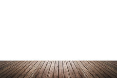 Wood floor texture isolated on white background Royalty Free Stock Photos
