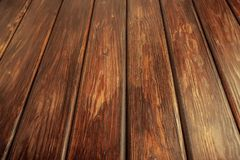 Wood floor. Textured background of wood wall stock photos