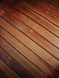 Wood flooring 1. Amenity Horticulture wood floor is taken as the pathway to sit next to the ground Stock Image