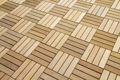 Wood Flooring Royalty Free Stock Photography