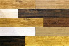 Wood flooring Royalty Free Stock Image