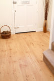 Wood flooring in a home Stock Photography