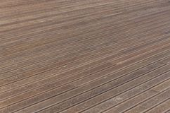 Wood flooring texture outside home. A wood flooring texture outside home stock images