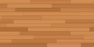 Wood Flooring Woodstrip Parquet Seamless Background. Plank floor parquet - vector illustration of vintage parquetry pattern with wooden texture - seamless stock illustration