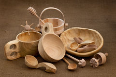 wood folk craft Royalty Free Stock Images