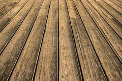 Wood footpath Stock Images