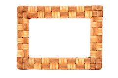 Wood frame Royalty Free Stock Images