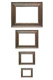 Wood frame. For best image Royalty Free Stock Photos
