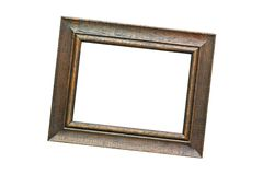 Wood frame. For best image Stock Photography