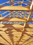 Wood frame Stock Photo