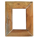 Wood frame. Normal simplicity style royalty free stock image