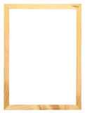 Wood frame. Blank wood frame, for put picture Stock Image