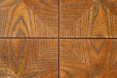 Wood Frame. Close up of detail of wood pattern frame Stock Photography
