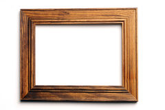 Wood frame Royalty Free Stock Image