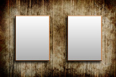Wood frame background Royalty Free Stock Photos