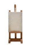 Wood frame holder. On white background Stock Photo
