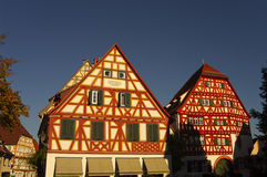 Wood-frame house in Ladenburg, by Heidelberg Stock Photos