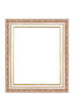 Wood frame isolated Stock Photos